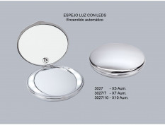 ESPEJO MANUAL CON LED